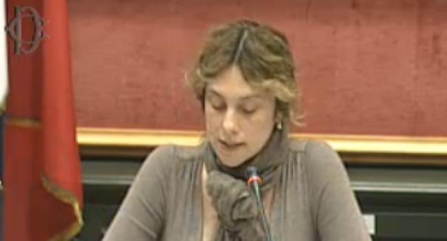Marianna Madia alla Camera dei deputati