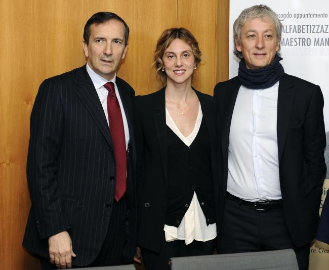 Antonio Gubitosi, Marianna Madia, Riccardo Luna