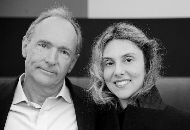 Tim Berners-Lee e Marianna Madia