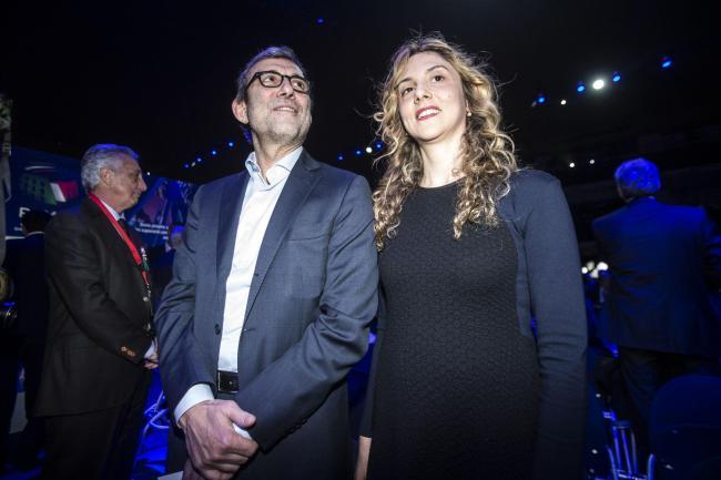 Roberto Giachetti e il ministro Marianna Madia