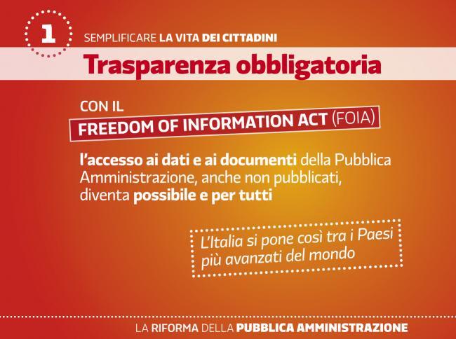 Cittadini e trasparenza